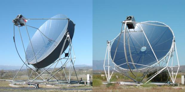 نیروگاههای حرارتی خورشیدی به ۵ دسته تقسیم بندی می گردند