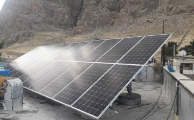 تولید انرژی های پاک و تجدیدپذیر در بقاع متبرکه استان