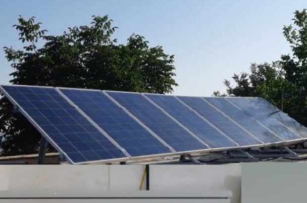 مجهز شدن حفاظت محیط زیست استان قزوین به پنلهای انرژی خورشیدی